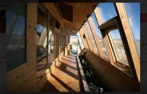 Earthship Windows