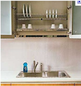 """Italian style"" dish drying rack"