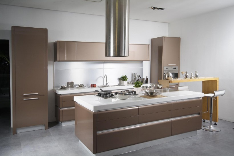while fitting into the landscape of a homes interior vent hoods are everything that good good design colliding with good engineering should be - Modern Kitchen Vent Hood